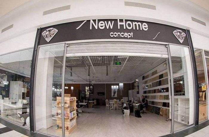 New Home Concept: showroom