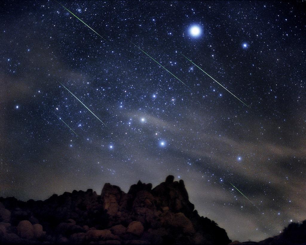 Ploaia de stele - Perseidele